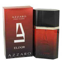 Azzaro Elixir Cologne by Azzaro, 100 ml Eau De Toilette Spray for Men