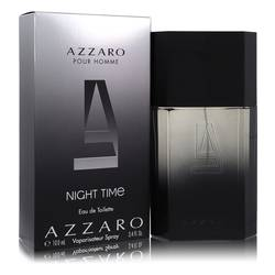 Azzaro Night Time Cologne by Azzaro, 100 ml Eau De Toilette Spray for Men