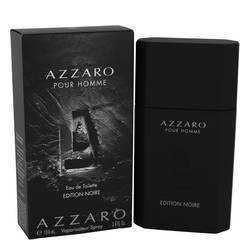 Azzaro Pour Homme Edition Noire Cologne by Azzaro, 100 ml Eau De Toilette Spray for Men
