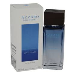 Azzaro Solarissimo Marettimo Cologne by Azzaro, 75 ml Eau De Toilette Spray for Men