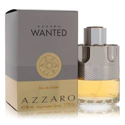 Azzaro Wanted Cologne by Azzaro, 50 ml Eau De Toilette Spray for Men