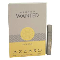 Azzaro Wanted Sample by Lorris Azzaro, .04 oz Vial (Sample) for Men Cologne