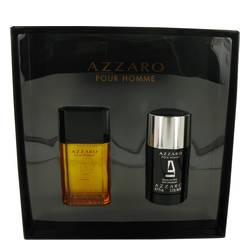 Azzaro Cologne by Azzaro -- Gift Set - 1.7 oz Eau De Toilette Spray + 2.2 oz Deodorant Stick