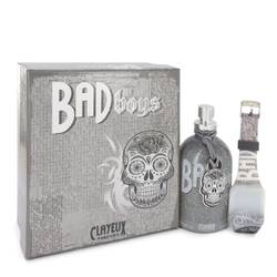 Bad For Boys Cologne by Clayeux Parfums, 100 ml Eau De Toilette Spray + Free LED Watch for Men