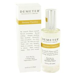 Demeter Perfume by Demeter 4 oz Banana Flambee Cologne Spray