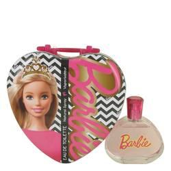 Barbie Metalic Heart Perfume by Mattel, 3.4 oz Eau De Toilette Spray for Women