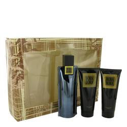 Bora Bora Cologne by Liz Claiborne -- Gift Set - 3.4 oz Cologne Spray + 3.4 oz Body Moisturizer + 3.4 oz  Hair & Body Wash