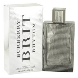 Burberry Brit Rhythm Intense Cologne by Burberry, 3 oz EDT Spray for Men