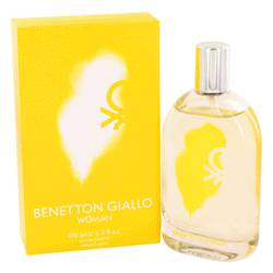 Benetton Giallo Perfume by Benetton, 3.4 oz Eau De Toilette Spray for Women