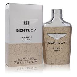 Bentley Infinite Rush Cologne by Bentley, 3.4 oz Eau De Toilette Spray for Men