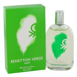 Benetton Verde Cologne by Benetton, 100 ml Eau De Toilette Spray for Men