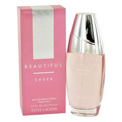 Beautiful Sheer Perfume by Estee Lauder 2.5 oz Eau De Parfum Spray