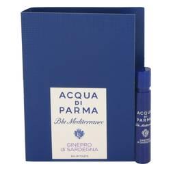 Blu Mediterraneo Ginepro Di Sardegna Perfume by Acqua Di Parma 0.04 oz Vial (sample)