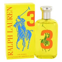 Big Pony Yellow 3 Perfume by Ralph Lauren 3.4 oz Eau De Toilette Spray