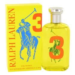 Big Pony Yellow 3 Perfume by Ralph Lauren 3.4 oz Eau De Toilette Spray