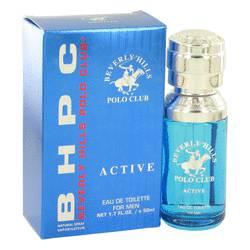 Beverly Hills Polo Club Active Cologne by Beverly Fragrances, 50 ml Eau De Toilette Spray for Men