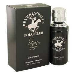 Beverly Hills Polo Club Sexy Cologne by Beverly Hills, 3.4 oz Eau De Toilette Spray for Men