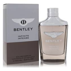 Bentley Infinite Intense Cologne by Bentley, 3.4 oz Eau De Parfum Spray for Men
