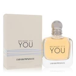 Because It's You Perfume by Emporio Armani, 3.4 oz Eau De Parfum Spray for Women