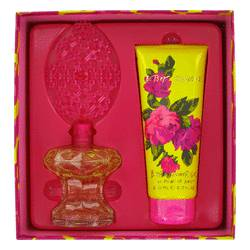 Betsey Johnson Perfume by Betsey Johnson -- Gift Set - 3.4 oz Eau De Parfum Spray + 6.7 oz Shower Gel
