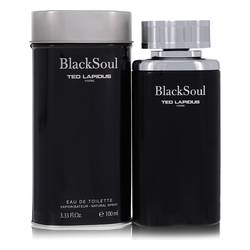 Black Soul Cologne by Ted Lapidus 3.4 oz Eau De Toilette Spray