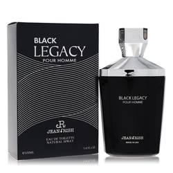 Black Legacy Pour Homme Cologne by Jean Rish, 3.4 oz Eau De Toilette Spray for Men