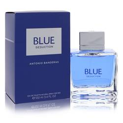 Blue Seduction Cologne by Antonio Banderas, 3.4 oz Eau De Toilette Spray for Men