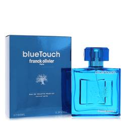 Blue Touch Cologne by Franck Olivier, 3.4 oz Eau De Toilette Spray for Men