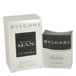Bvlgari Man Extreme Cologne by Bvlgari, 1 oz EDT Spray for Men