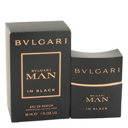 Bvlgari Man In Black Cologne by Bvlgari, 1 oz Eau De Parfum Spray for Men