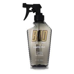 Bod Man Lights Out Cologne by Parfums De Coeur 8 oz Body Spray