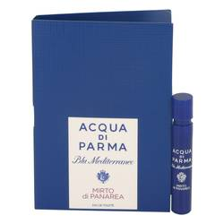 Blu Mediterraneo Mirto Di Panarea Perfume by Acqua Di Parma 0.04 oz Vial (sample)