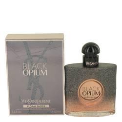 Black Opium Floral Shock Perfume by Yves Saint Laurent, 1.7 oz Eau De Parfum Spray for Women