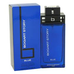 Bogart Story Blue Cologne by Jacques Bogart, 100 ml Eau De Toilette Spray for Men