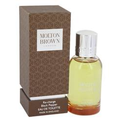 Black Pepper Perfume by Molton Brown, 1.7 oz Eau De Toilette Spray Refillable for Women