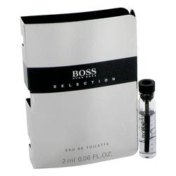 Boss Selection Cologne by Hugo Boss 0.06 oz Vial (sample)