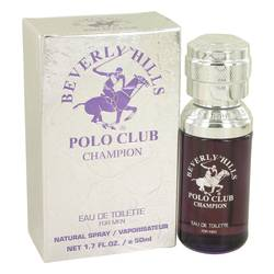 Beverly Hills Polo Club Champion Cologne by Beverly Fragrances, 1.7 oz Eau De Toilette Spray for Men