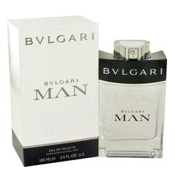 Bvlgari Man Cologne by Bvlgari, 3.4 oz EDT Spray for Men