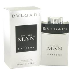 Bvlgari Man Extreme Cologne by Bvlgari, 3.4 oz EDT Spray for Men