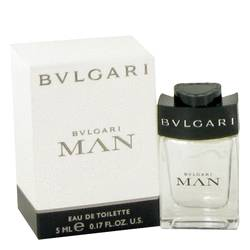 Bvlgari Man Cologne by Bvlgari 0.17 oz Mini EDT