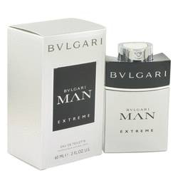 Bvlgari Man Extreme Cologne by Bvlgari, 2 oz EDT Spray for Men