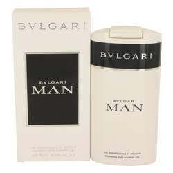 Bvlgari Man Shower Gel by Bvlgari, 200 ml Shower Gel for Men