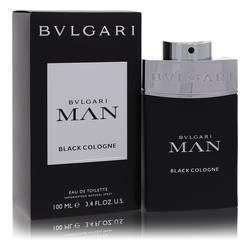 Bvlgari Man Black Cologne Cologne by Bvlgari, 3.4 oz EDT Spray for Men