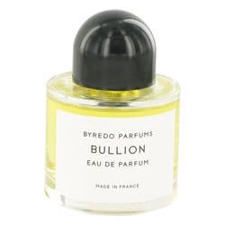 Byredo Bullion Perfume by Byredo, 3.4 oz Eau De Parfum Spray (Unisex Tester) for Women