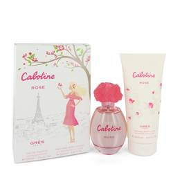 Cabotine Rose Perfume by Parfums Gres -- Gift Set - 3.4 oz Eau De Toilette Spray + 6.7 oz Body Lotion