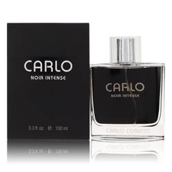 Carlo Noir Intense Cologne by Carlo Corinto, 100 ml Eau De Toilette Spray for Men