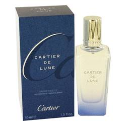 Cartier De Lune Perfume by Cartier, 1.5 oz Eau De Toilette Spray for Women