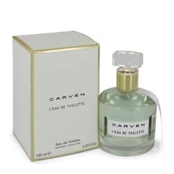 Carven L'eau De Toilette Perfume by Carven, 3.4 oz Eau De Toilette Spray for Women