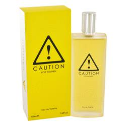 Caution Perfume by Kraft 3.4 oz Eau De Toilette Spray