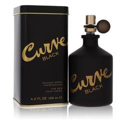 Curve Black Cologne by Liz Claiborne, 4.2 oz Cologne Spray for Men
